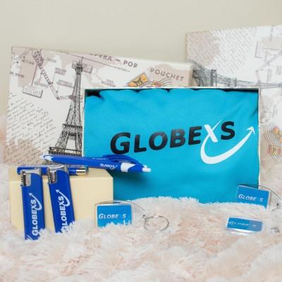 Globexs merchandising set