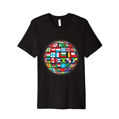 T-Shirt Planet Earth With...