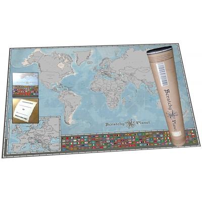International Scratch Map